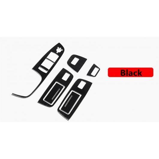 AL コンソール ギアシフト 装飾 カバー エア パネル トリム 適用: アウディ Q7 2008-15 ドアノブ アームレスト ボタン フレーム ドアアームレスト ブラック AL-EE-4676