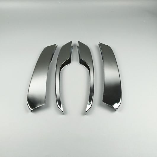AL クローム フロント フォグランプ 装飾 フレーム トリム グリッド グリッド ストリップ 適用: アウディ Q5 2012-2016 4ピース AL-EE-4693