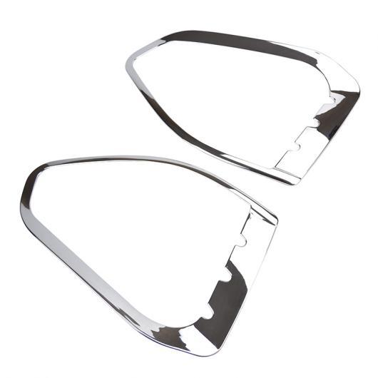 AL 適用: フォード エスケープ クーガ 2 2013-2016 クローム フロント ヘッド フォグライト フォグライト ランプ カバー トリム バンパー ガード 装飾 AL-EE-5580