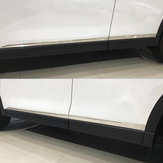 AL 適用: マツダ CX-5 CX5 KF 2017-2019 クローム ドア サイド ボディ トリム カバー ストリップ プロテクター 装飾 ステンレス AL-EE-5729
