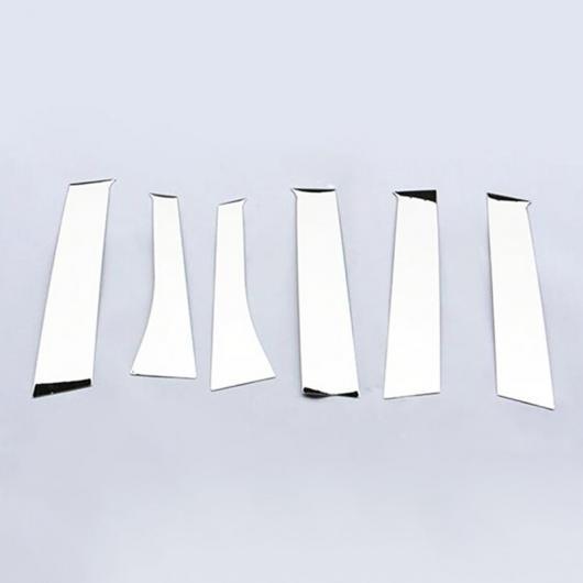 AL 適用: 三菱 アウトランダー 2014-2019 クローム ウインドウ ピラー ポスト カバー トリム ステンレス 装飾 スタイリング AL-EE-5782