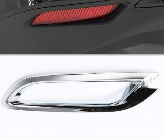 AL 適用: トヨタ カムリ XV70 2018 2019 ディテクター ABS クローム カバー トリム バック テール リア フォグライト ランプ フレーム スティック 2ピース AL-EE-5971