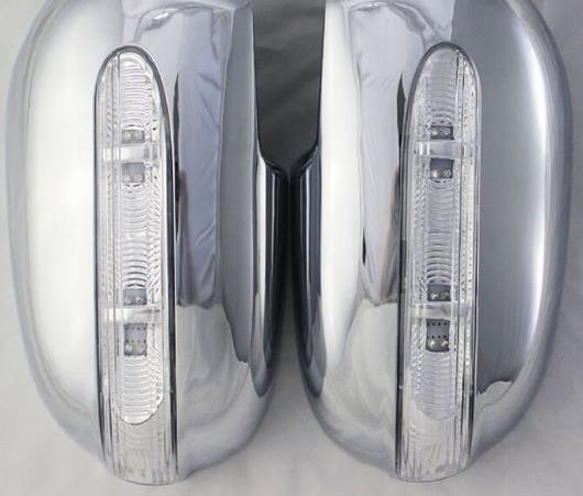 AL 適用: トヨタ カローラ 1996 AE110 AE111 AE112 クローム メッキ リア ミラー ドア カバー LED AL-EE-5975