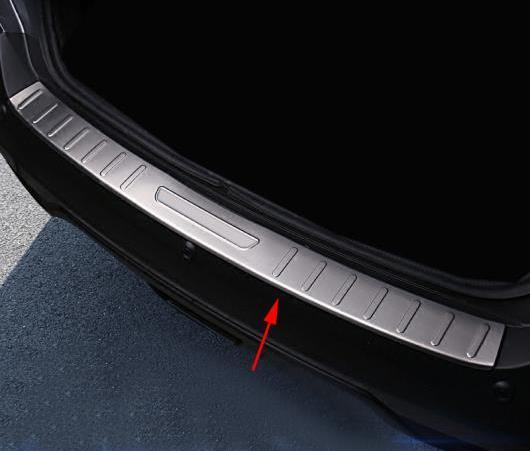 AL 1ピース ステンレス スチール アウター リア バンパー プロテクター ガード カバー トリム 適用: 日産 キックス 2016 2017 2018 2019 スタイリング AL-EE-6183
