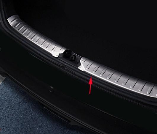 AL 1ピース ステンレス スチール インナー リア バンパー プロテクター ガード プレート カバー トリム 適用: 日産 キックス 2016 2017 2018 2019 AL-EE-6184