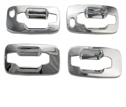 AL 4ピース ABS クローム メッキ ドア ハンドル ボウル カバー トリム 適用: 日産 エクストレイル 2000-2010 T30 AL-EE-6320