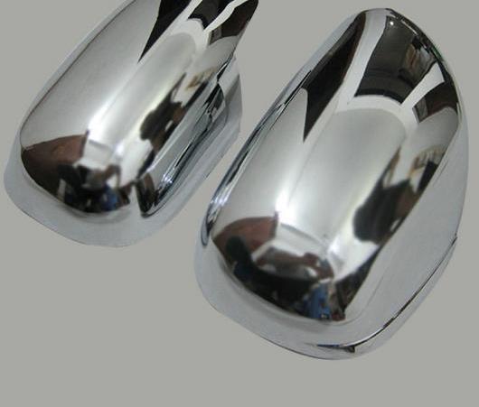AL ABS クローム デザイン 適用: プラド 120 サイド ミラー カバー ヘッド トリム トヨタ ランドクルーザー プラド FJ120 2003-2009 パーツ AL-EE-6381