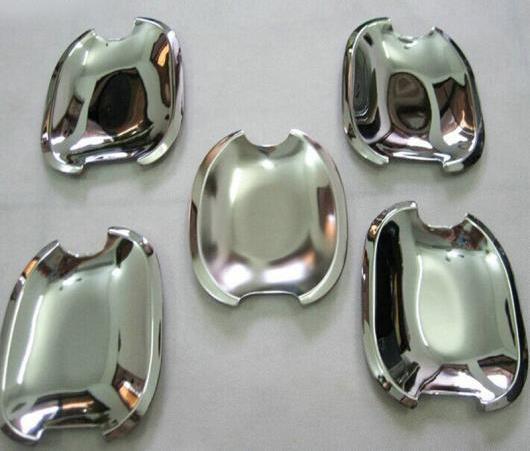 AL ABS クローム デザイン プラド 120 プレート ドア ハンドル ボウル トリム 適用: トヨタ プラド FJ120 FJ 120 2003 2004-2007 2009 AL-EE-6384