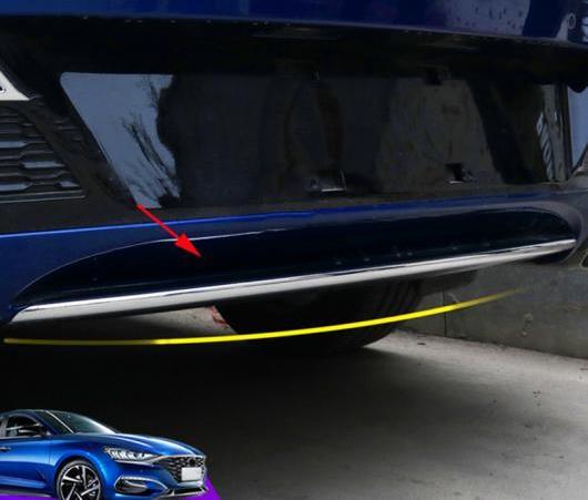 AL クローム スタイリング ABS メッキ リア バンパー カバー トリム 適用: ヒュンダイ ラフェスタ 2018 2019 AL-EE-6557