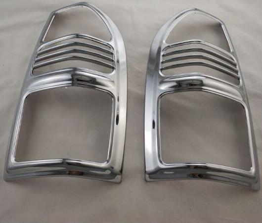 AL クローム テール ライト カバー 適用: トヨタ ランドクルーザー プラド FJ90 3400 スポイラー SUV ABS ランプ カバー AL-EE-6562