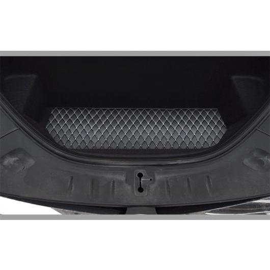 AL 適用: テスラ モデル S 2014-18 すべて フロント ボックス マット トランク 防水 カーペット 装飾 スタイル 1 AL-EE-6884