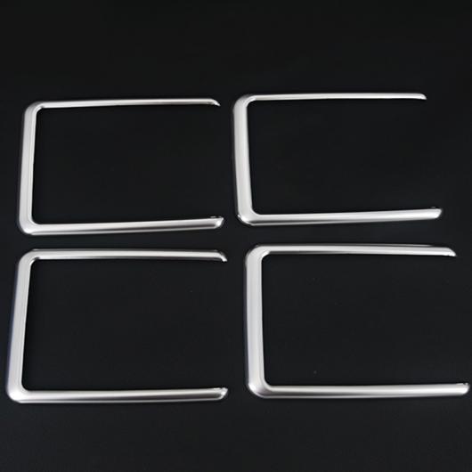 AL 適用: トヨタ アルファード 2015-2018 ディテクター ルーフ インサイド オーディオ 装飾 フレーム スピーカー サウンド ライト シルバー AL-EE-6953