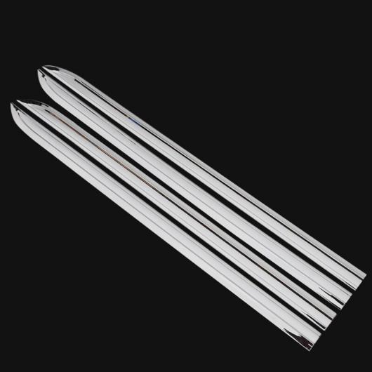 AL 適用: トヨタ アルファード 2015-2018 ドア サイド プロテクター バンパー ストリップ デカール 装飾 衝突防止 バー ペースト シルバー AL-EE-6958