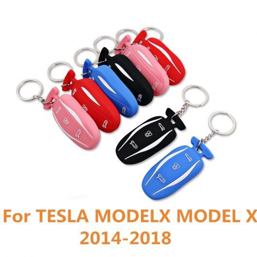 AL 適用: テスラ モデル X 2014-2018 キー カバー 亜鉛 合金+レザー ケース バッグ キーチェーン スキン セット アクセサリー ブラック~ピンク AL-EE-6872