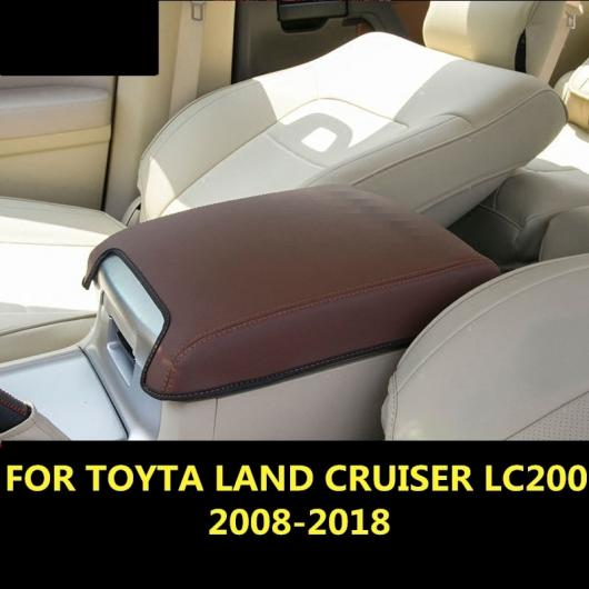 AL 適用: トヨタ ランドクルーザー LC200 2008-2018 セントラル コンテナ アームレスト ボックス PU レザー オート ホルダー ベージュ スタイル 2~ブラウン スタイル 2 AL-EE-6994
