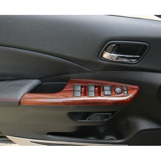 AL 適用: ホンダ CRV CR-V 2012-2016 ウインドウ コントロール パネル ガラス リフター スイッチ カバー トリム 保護 装飾 レッド AL-EE-7110