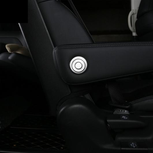 AL 適用: ホンダ オデッセイ 2015-2018 シート アームレスト アーム フレーム 装飾 サークル インテリア アクセサリー シルバー AL-EE-7183