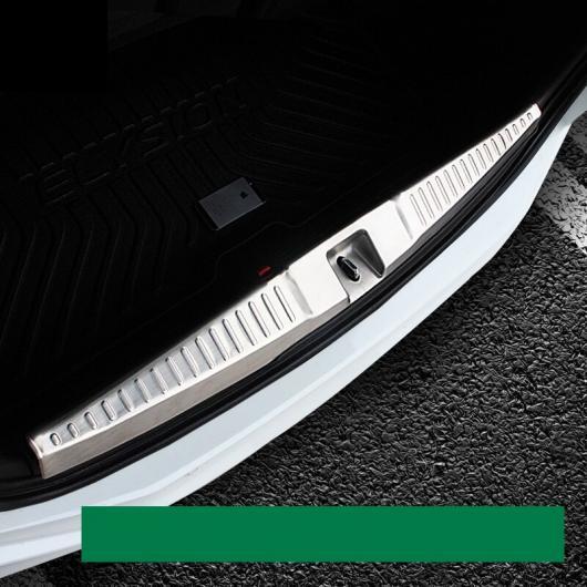 AL 適用: ホンダ オデッセイ 2015-2018 ステンレス スチール リア トランク バンパー スカッフ プレート ドア シル シルバー スタイル 2 AL-EE-7189