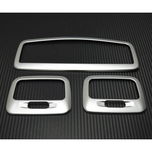 AL 適用: 三菱 ASX 2013-2018 ABS クローム フロント ルーフ ドーム リード ライト ランプ カバー リア バックアップ 装飾 フレーム シルバー AL-EE-7312