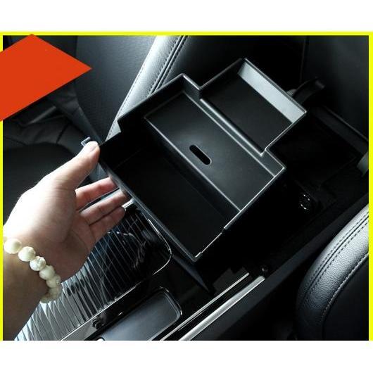 AL 適用: ジャガー XF 2016 2017 2018 セントラル コントロール ストレージ ボックス グローブ プラスチック 携帯電話 カード スロット ブラック AL-EE-7665