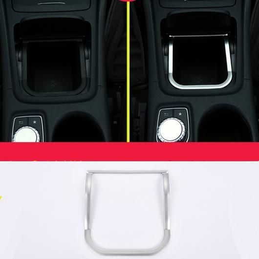 AL ステッカー カバー トリム ストリップ 適用: コントロール ギア シフト パネル 装飾 メルセデス ベンツ GLA CLA シルバー 1ピース AL-EE-7812