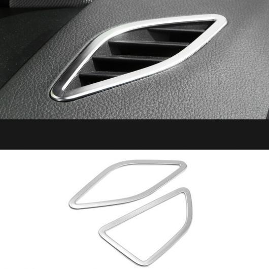 AL ダッシュボード 吹き出し口 ボックス 装飾 フレーム 適用: BMW 2シリーズ F22 F23 M2 F87 220I 228I 230I M235I 2ピース AL-EE-7841