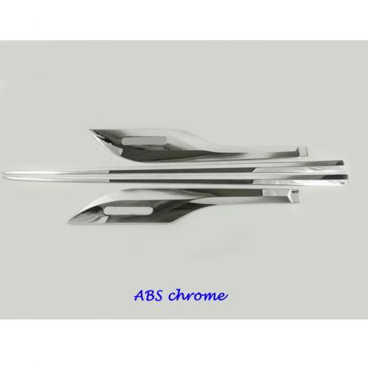 AL ディテクター ステンレス スチール/ サイド ドア ボディ トリム スティック ストリップ パーツ 適用: ホンダ シビック 10世代 セダン 2016 2017 2018 ABS クローム AL-EE-7842