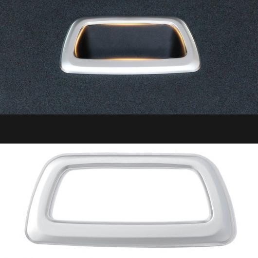 AL トランク クラップボード ハンドル フレーム テール ドア 装飾 カバー トリム パッチ アクセサリー 適用: BMW X1 F48 2016-2018 1ピース AL-EE-7850