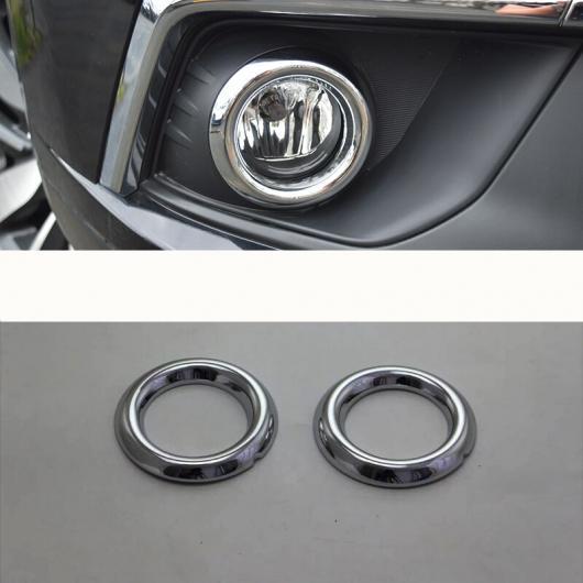 AL リア フォグライト フロント カバー トリム ストリップ ABS クローム フレーム ランプ 装飾 適用: 三菱 ASX 2013-2018 フロント フォグライト AL-EE-7917