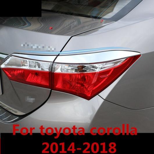 AL 適用: トヨタ カローラ 2014-2018 ヘッドライト アイブロー アイリッド アクセサリー テールライト ヘッドランプ 装飾 AL-EE-6981