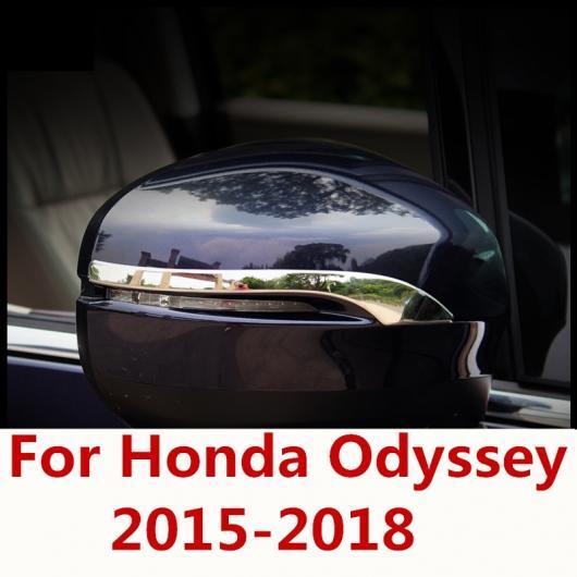 AL 適用: ホンダ オデッセイ 2015-2018 エクステリア バックミラー ミラー カバー スパンコール 装飾 ステッカー アクセサリー AL-EE-7177