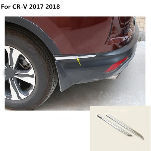AL トップ サイド バンパー コーナー 保護 トリム フレーム ステンレス スチール 傷つき防止 カバー パネル 適用: ホンダ CRV CR-V 2017-18 AL-EE-7848