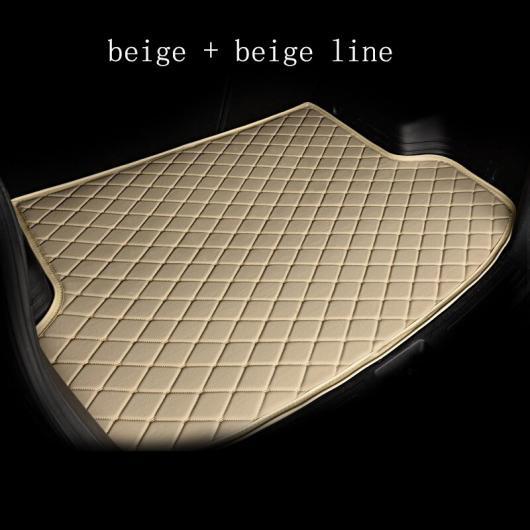 AL カーゴ ライナー 適用: 奇瑞汽車 全モデル QQ3 QQ6 AI Ruize A3 Tiggo X1 QQ A5 E3 V5 EQ1 Tiggo E5 A3 ブーツ マット トランク マット フロア ブラック ホワイトライン~パープル ベージュライン AL-EE-8171