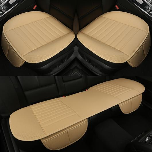 AL ユニバーサル レザー シートクッション 適用: クライスラー 全モデル 300C 300 グランド ボイジャー ブラウン~ブラック AL-EE-8442