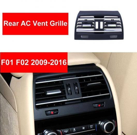 AL ABS リア ヒーター ホール ウィンド エアコン 吹き出し口 グリッド パネル クローム プレート リプレース 適用: BMW 7シリーズ F01 F02 730 740 センター~リア ハイ バージョン AL-EE-8815