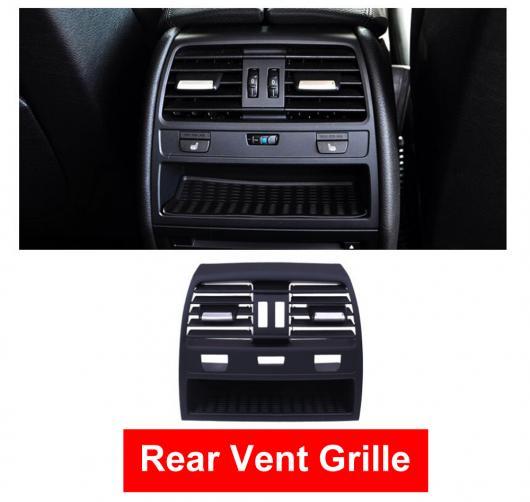 AL ABS リア ヒート ウィンド エアコン 吹き出し口 グリル パネル クローム プレート リプレース 適用: BMW 7シリーズ F01 F02 730 735 740 センター~リア ハイ バージョン AL-EE-8600