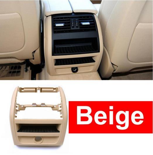 AL LHD RHD リア エアコン 吹き出し口 グリッド フレーム パネル プレート 適用: BMW 5シリーズ F10 F18 520 525 ベージュ オレンジ~ゴールド AL-EE-8850