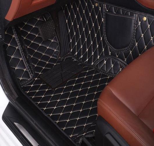 AL フロアマット 適用: ジープ 全モデル グランド チェロキー コンパス コマンダー チェロキー ラングラー パトリオット レネゲード マット ブラック レッド~ワイン レッド AL-FF-0334