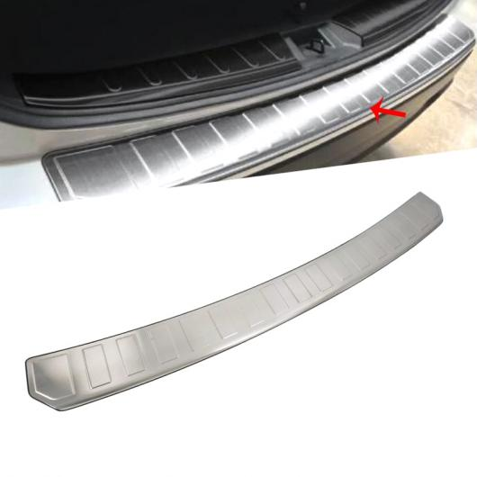 AL 適用: スバル フォレスター 2019 ステンレス スチール インナー リア バンパー インテリア トランク ドア シル プロテクター カバー トリム 外側 AL-FF-0777