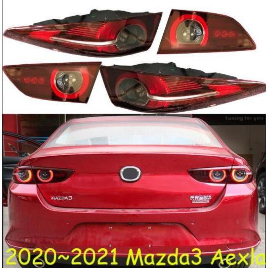 AL 適用: MAZDA3 マツダ3 リア ライト セダン アクセラ テールランプ ブレーキ ランプ 2020-2021Y LED フォグ バンパー ライト Sedan car MAZDA3 アクセラ 2020 2021YEAR AL-FF-1973