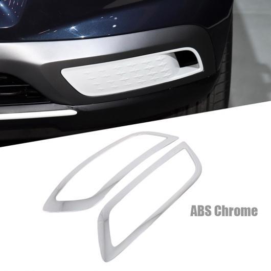 AL 適用: ヒュンダイ ベニュー 2019 2020 クローム フロント ヘッド ライト ランプ カバー トリム ヘッドライト アイブロー ストリップ アクセサリー フロント フォグライト カバー AL-FF-0898