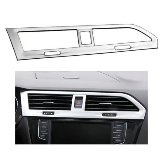 AL 適用: フォルクスワーゲン VW ティグアン 2017 2018 装飾 エア ベント コンディション カバー トリム ステンレス スチール フレーム タイプ001 AL-FF-0939