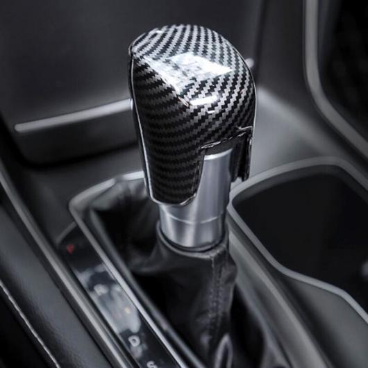 AL 適用: ホンダ アコード 10代目 2018 2019 インテリア ギア シフト ノブ カバー トリム ステッカー ABS カーボンファイバー スタイル タイプ002 AL-FF-0969