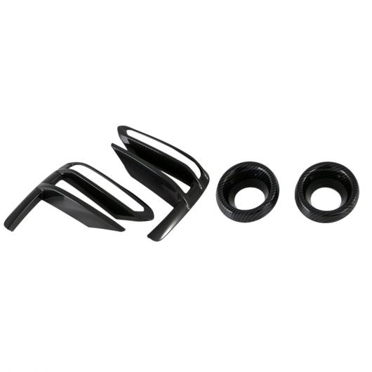 AL 適用: 起亜 K3 セラトー 2019 2020 カーボンファイバー スタイル フロント フォグライト ランプ カバー トリム モールディング ベゼル ガーニッシュ タイプ003 AL-FF-1046