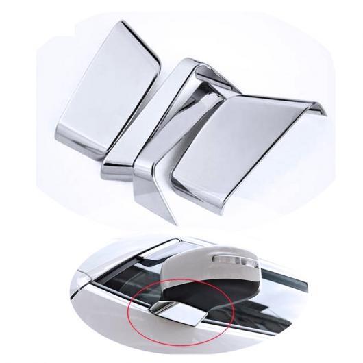 AL 適用: ジープ レネゲード 2015 2016 ABS クローム ドア サイド ミラー ベース カバー トリム シェル モールディング 4ピース AL-FF-1129