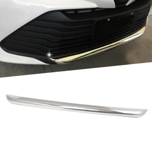 AL 適用: トヨタ ヴィオス ヤリス セダン 2017 保護 バンパー ABS クローム トリム フロント ヘッド ボンネット ボトム モールディング パーツ 1ピース AL-FF-1158