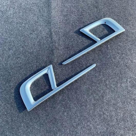 AL 適用: ホンダ オデッセイ 2018 2019 2020 2ピース ABS クローム フロント ヘッド フォグランプ ライト カバー トリム フロント フォグ カバー AL-FF-1208