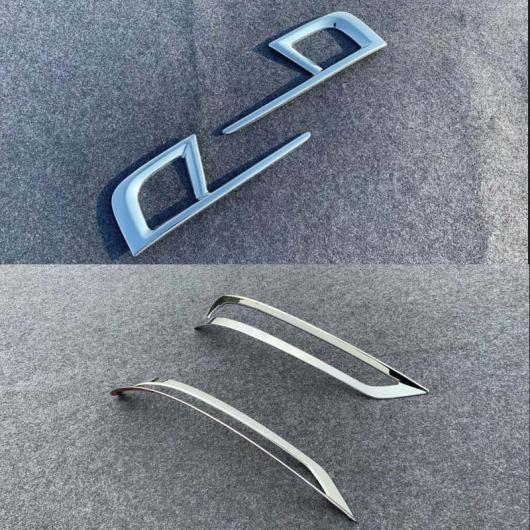 AL 適用: ホンダ オデッセイ 2019 2020 リア フォグライト カバー トリム ストリップ ABS クローム フレーム ランプ 装飾 アクセサリー 2ピース フロント リア AL-FF-1210