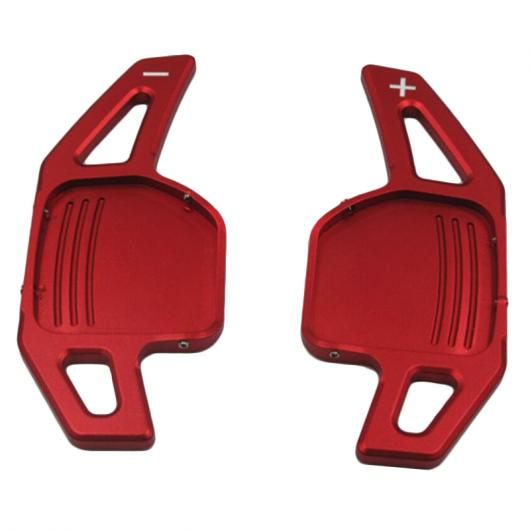 AL 2ピース/LOT スポーツ ステアリング ホイール シフト パドル シフター 適用: アウディ A3 A4 A4L A5 A6 A7 A8 Q3 Q5 Q7 TT S3 R8 レッド シルバー ブラック タイプ001~タイプ003 AL-FF-1369