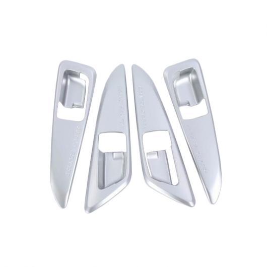 AL 4ピース ABS プラスチック インテリア ドア ハンドル ボウル カバー トリム 適用: 三菱 エクリプス クロス 2018 2019 マット AL-FF-1400